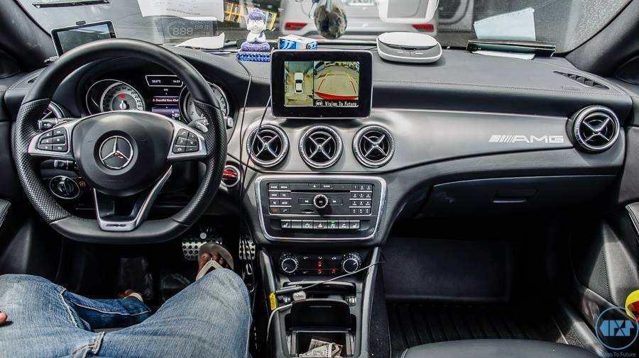 Camera 360 độ Oris lắp trên xe Merceder GLA 200
