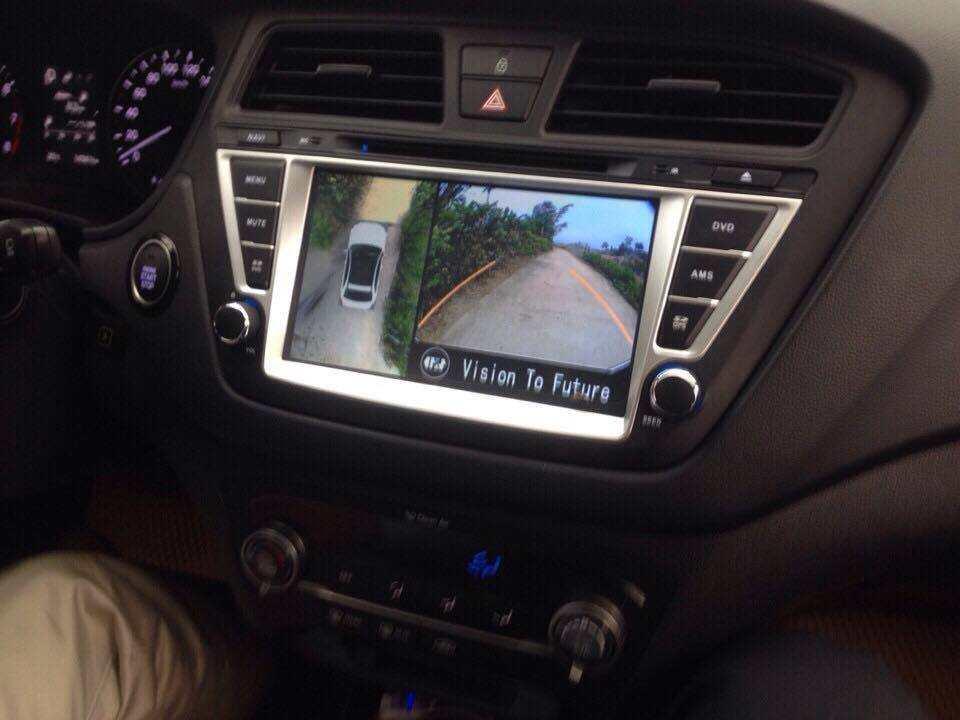 Camera 360º Oris lắp trên xe Hyundai I20 ACTIVE 2015-2017