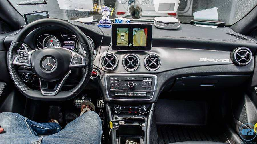 Camera 360º Oris lắp trên xe Merceder GLA 200