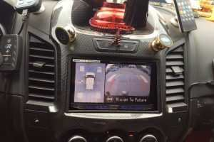 Camera 360º oris lắp trên xe Ford Ranger