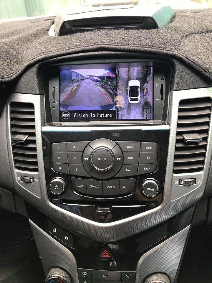 Camera 360º Oris lắp trên xe Lacetti, Chevronet Cruze