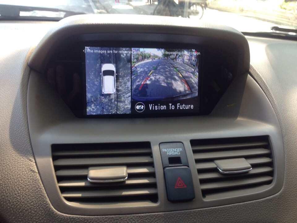Camera 360º oris lắp trên xe ACURA MDX
