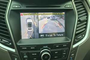 Camera 360º Oris lắp trên xe Hyundai Santafer 2015-2017