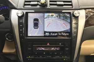 Camera 360º Oris lắp cho xe Toyota Camry 2015-2017