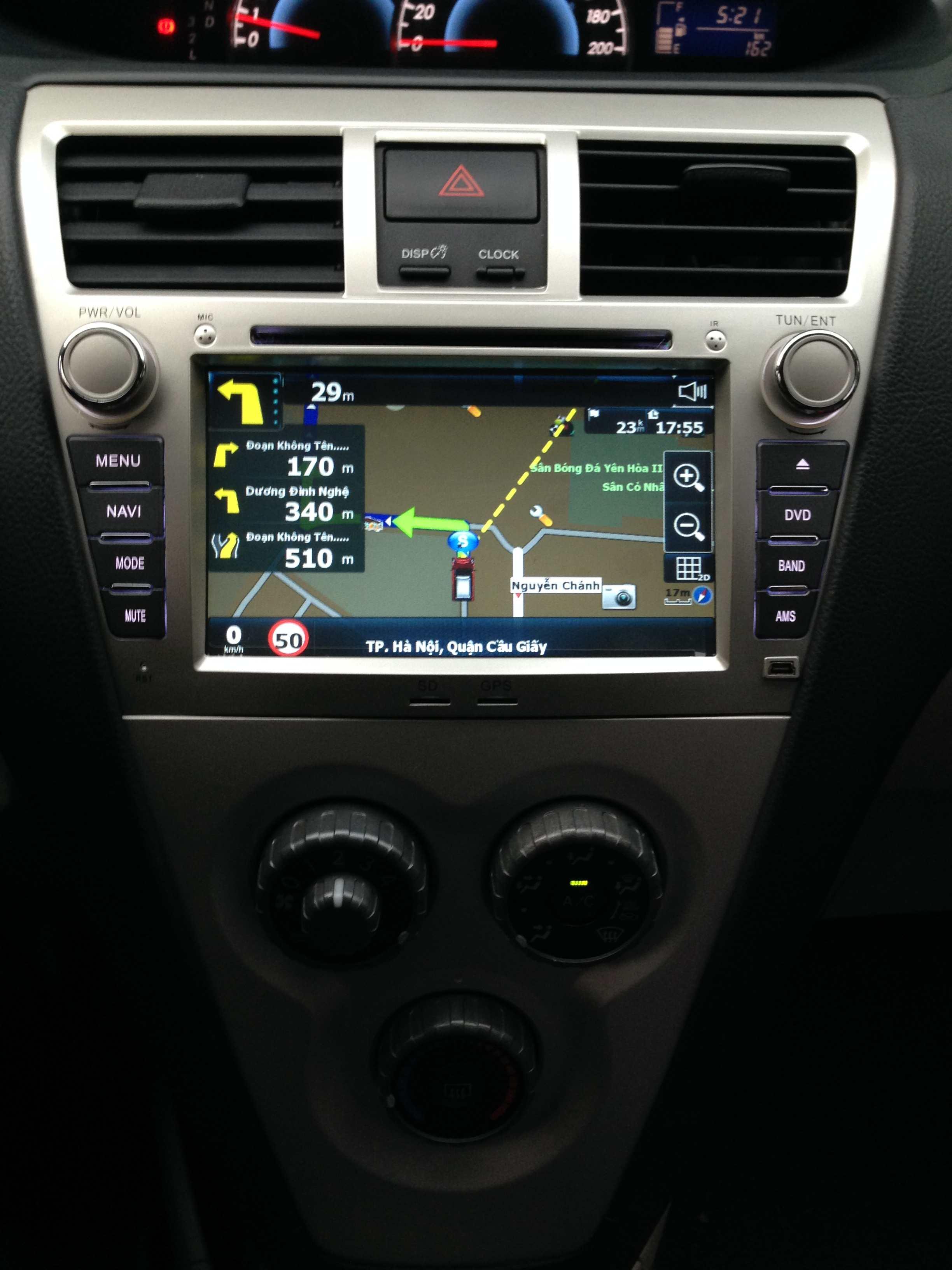 Màn hình dvd theo xe Toyota Vios 2008-2012