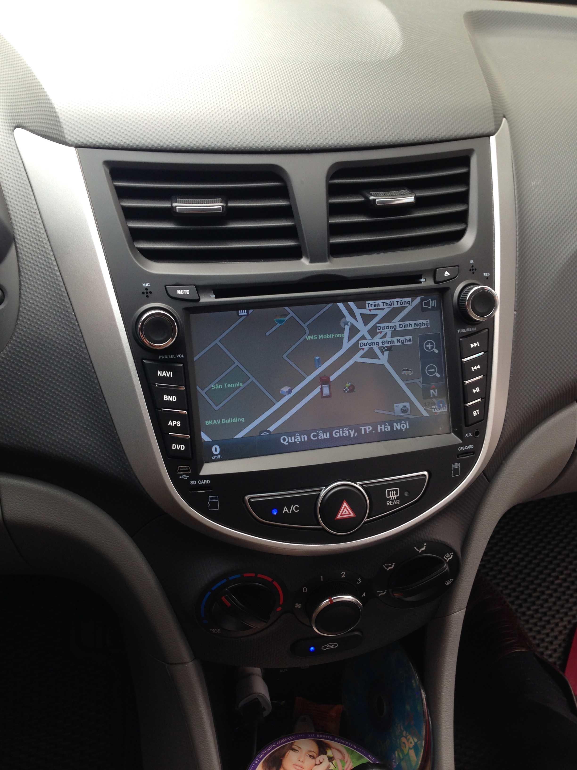 Màn hình dvd theo xe Hyundai accent 2011-2016