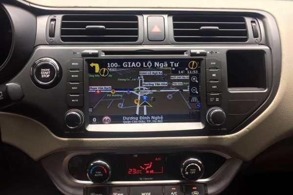 Màn hình dvd theo xe Kia Rio