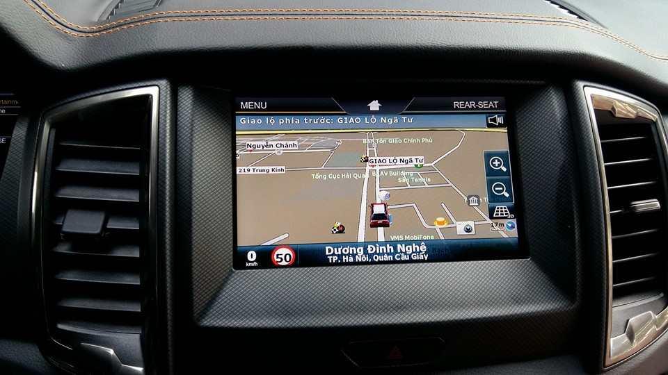 Màn Hình DVD theo xe Ford Ranger XLT