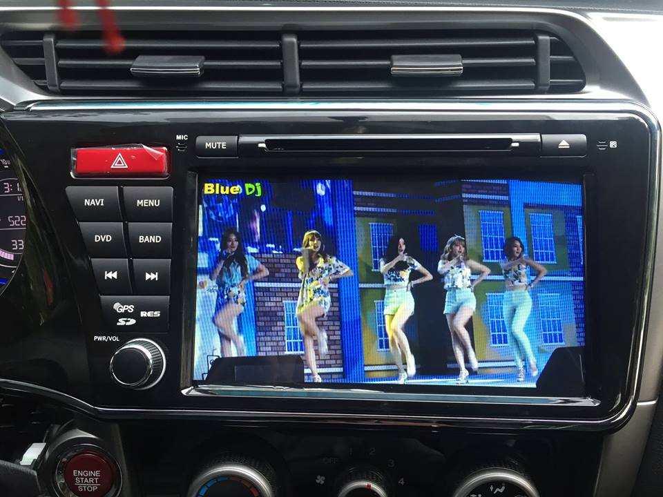 Màn hình dvd theo xe Honda City 2014-2017