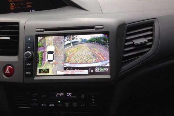Màn hình Dvd theo xe Honda civic 2012-2016