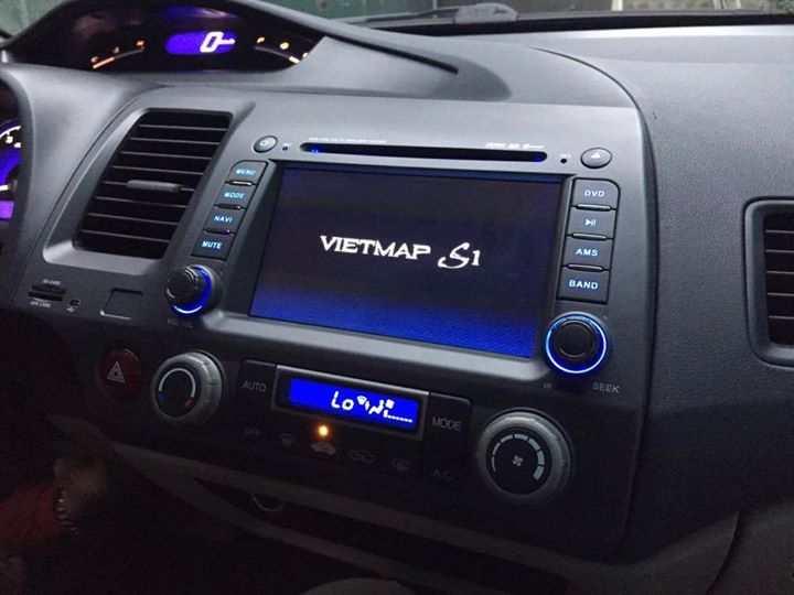 Màn hình dvd theo xe Honda Civic 2006-2011