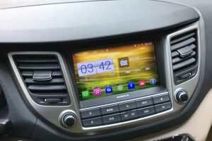 Màn hình dvd theo xe Hyundai Tucson 2014-2017