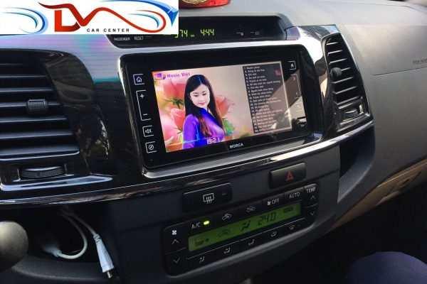 Màn hình dvd theo xe Toyota fortuner 2010-2017