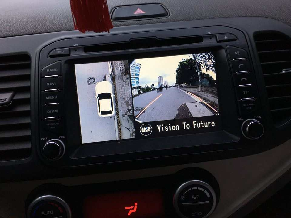 Camera 360º Oris lắp cho xe Kia Morning 2011-2017