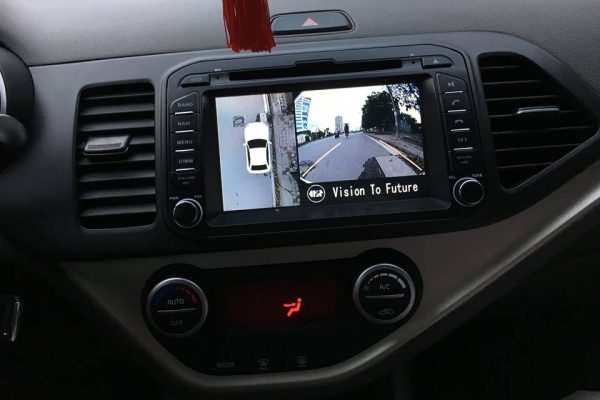 Camera 360 độ Oris lắp cho xe Kia Morning 2011-2017