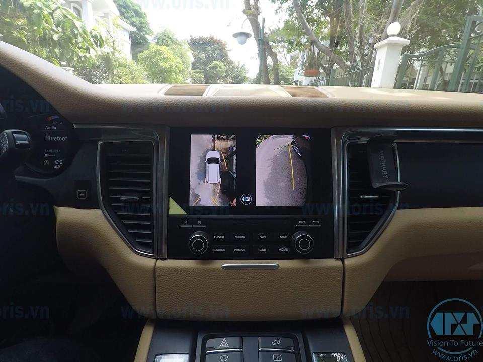 Camera 360 độ Oris cho xe Porsche