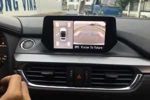 Camera 360º Oris lắp cho xe Mazda 6 2017