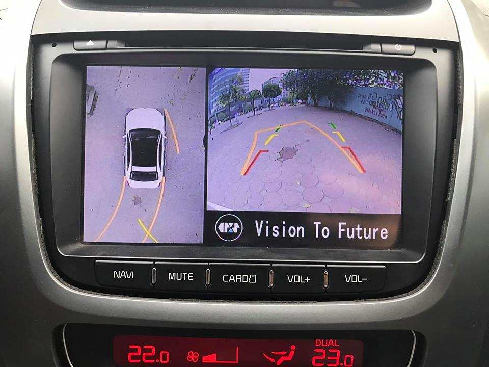 Camera 360 độ Oris lắp cho KiA Sorento 2012-2017