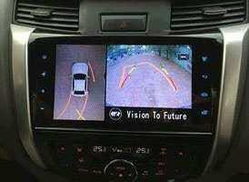 Camera 360º oris lắp trên xe Nissan Navara 2017