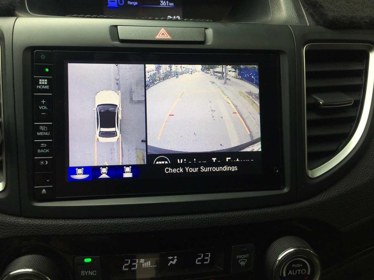 Camera 360 độ oris cho xe Honda Crv