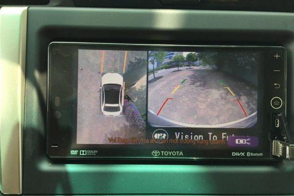 Camera 360 độ Oris cho xe Toyota Innova 2017