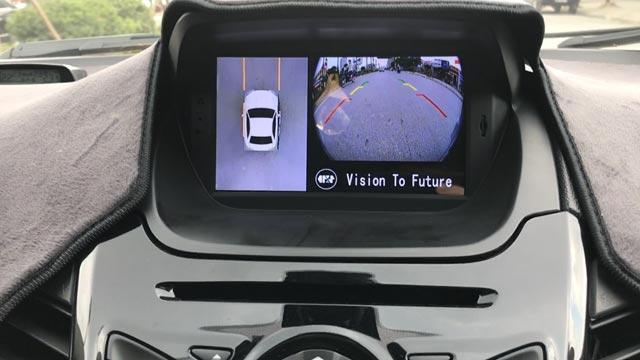 Camera 360 độ Oris lắp cho xe Ford Ecosport 2014-2017