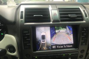Camera 360 Oris lắp trên xe Lexus Gx460