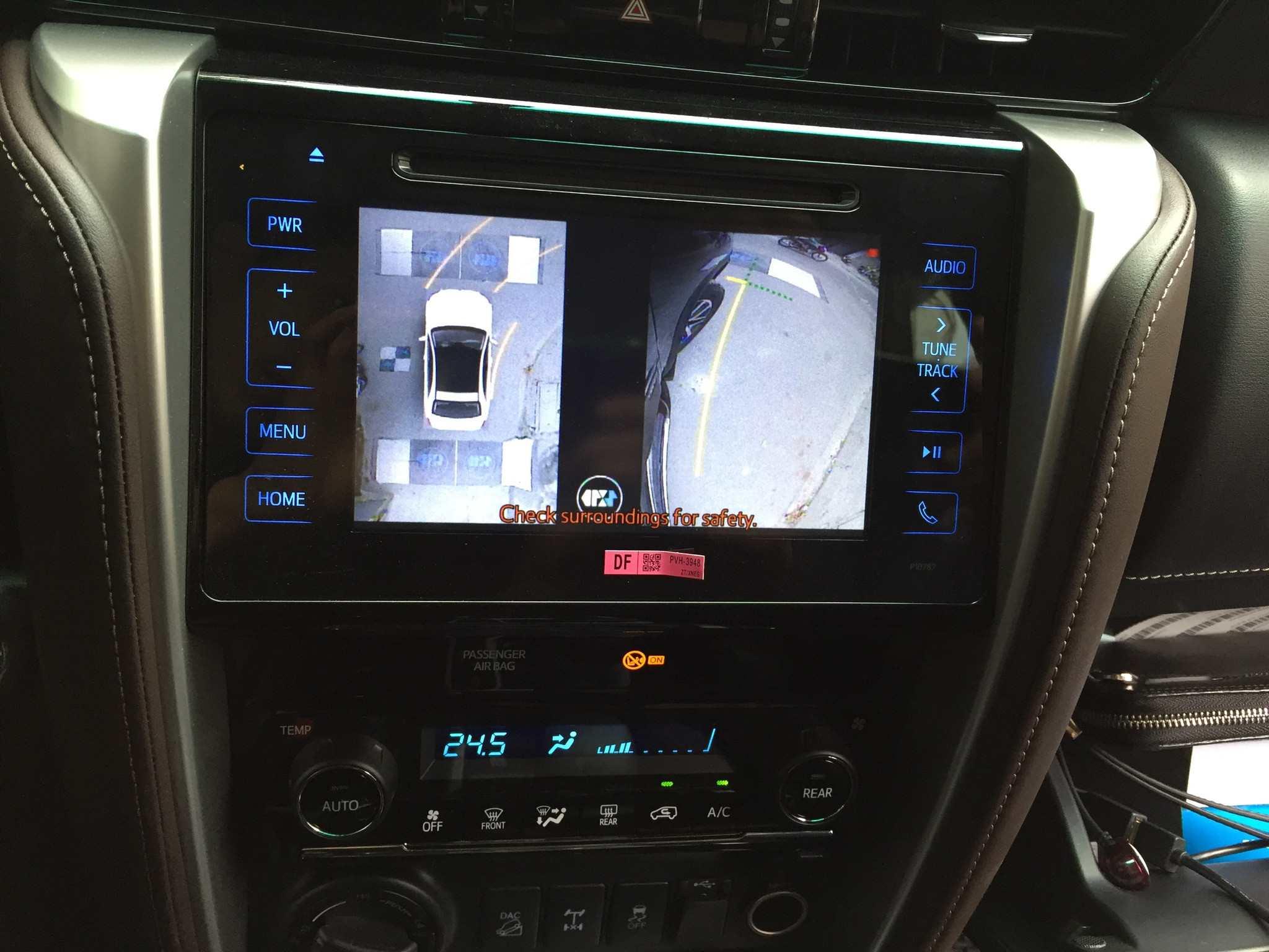 Camera 360 độ Oris cho xe Toyota Fortuner