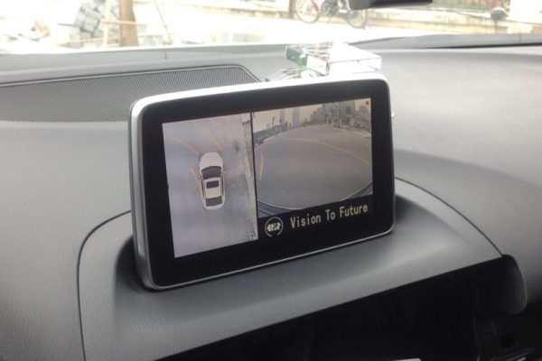 Camera 360 độ Oris lắp cho xe Mazda 3 2014-2017