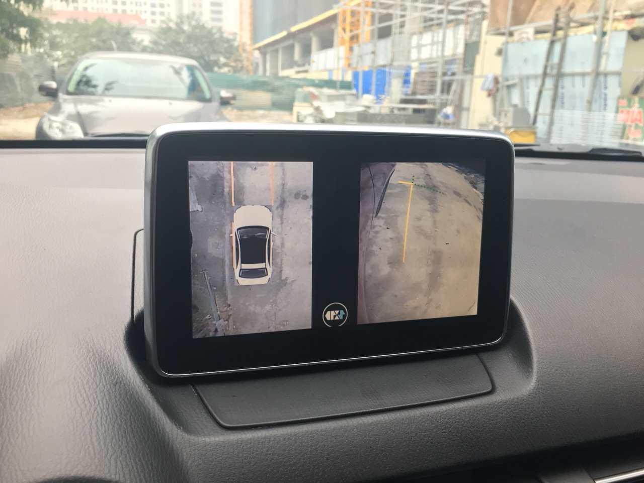 Camera 360 độ oris Lắp trên xe Mazda 2