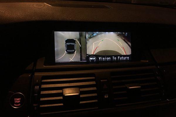Camera 360 độ Oris lắp trên xe BMW-X6