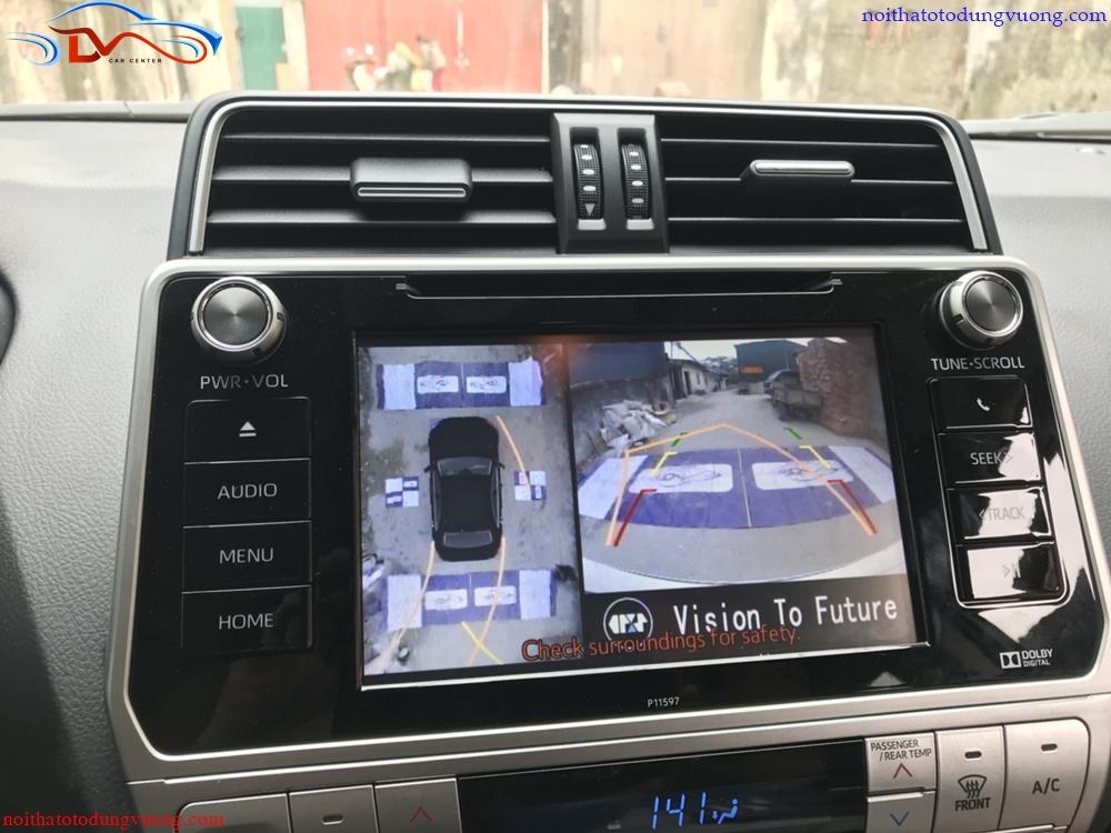 Camera 360 Oris trên xe Land Cruiser Prado 2018