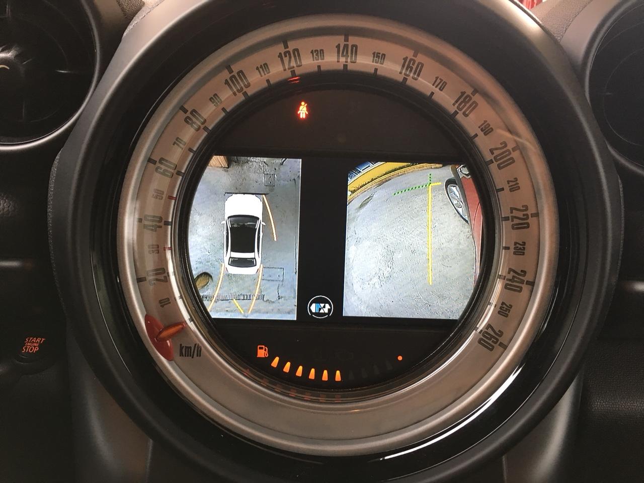 Camera 360 độ Oris lắp trên xe Mini Cooper S 2012