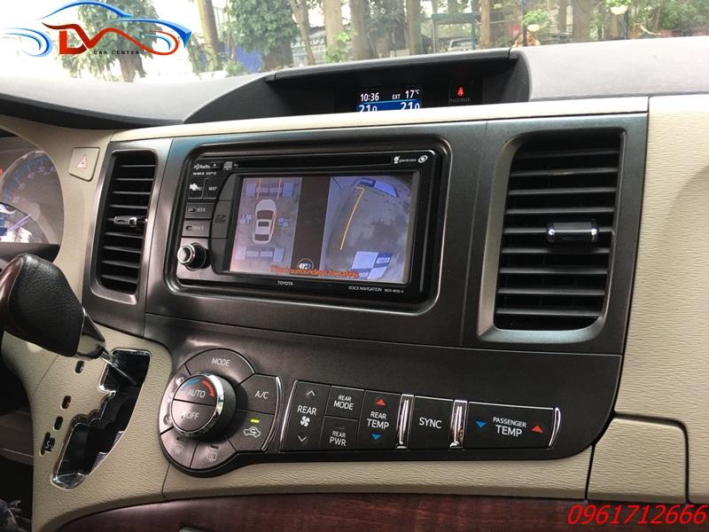 Camera 360 độ Oris lắp trên xe Toyota Siena