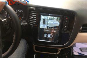 Camera 360 độ Oris lắp trên xe Mitsubishi Outlander 2018
