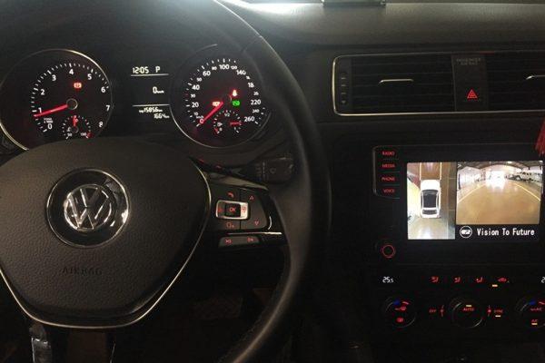 Camera 360 độ ô tô lắp trên xe Volkswagen Scirocco 2017