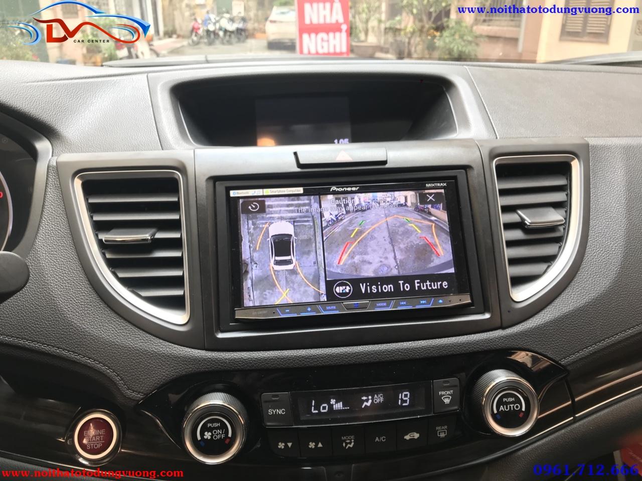 Camera 360 độ Oris lắp trên xe HonDa CRV - 2016