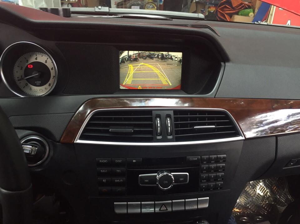 Camera lùi cho xe ô tô Mercedes c300