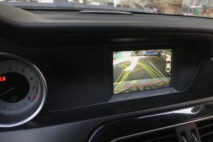 Camera lùi cho xe Mercedes C300 - 2012