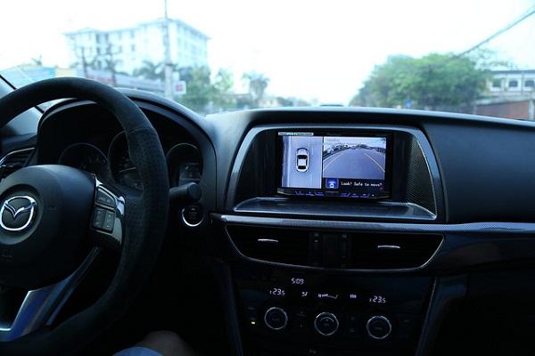 Camera 360 hỗ trợ người điều khiển xe quan sát toàn cảnh không gian