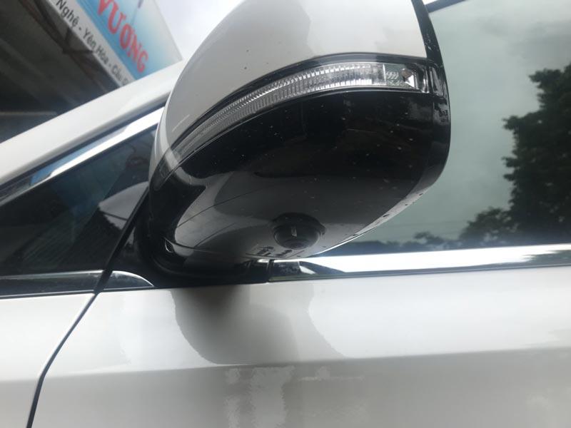 Camera sườn ô tô nên được lắp đặt như thế nào?