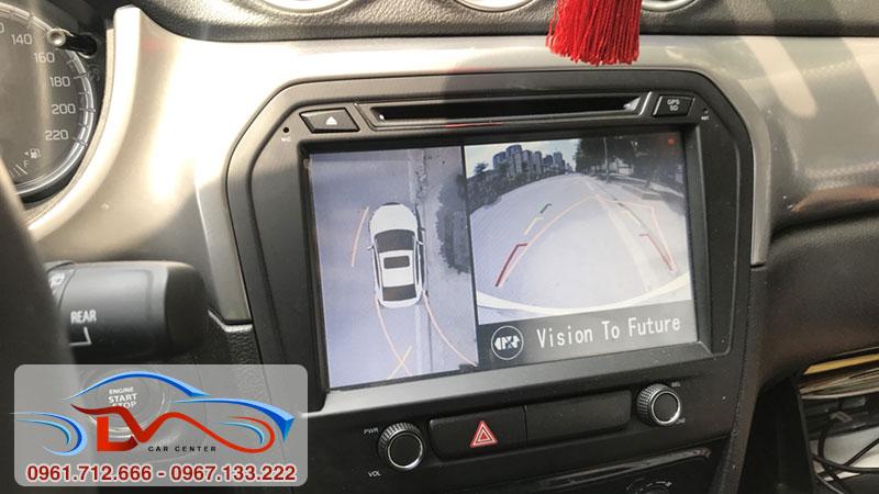 Camera 360 oto mang đến hành trình lái xe tuyệt vời
