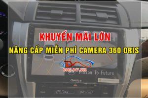 Nâng cấp Camera 360 Oris miễn phí