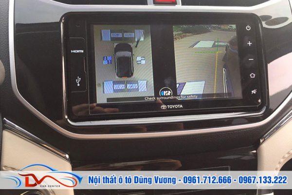Camera 360 Ô tô cho Toyota Rush