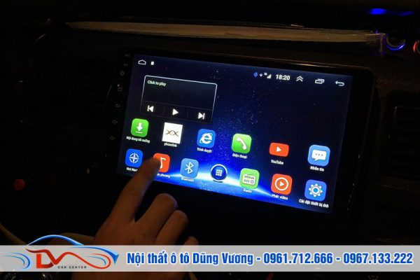 Màn Hình Android cho xe Ford Transit