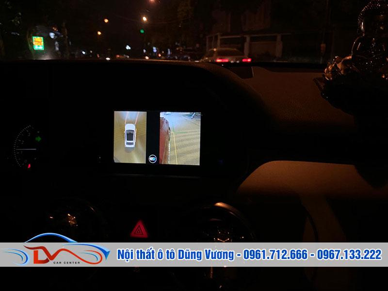 Camera 360 giúp bạn điều khiển xe an toàn