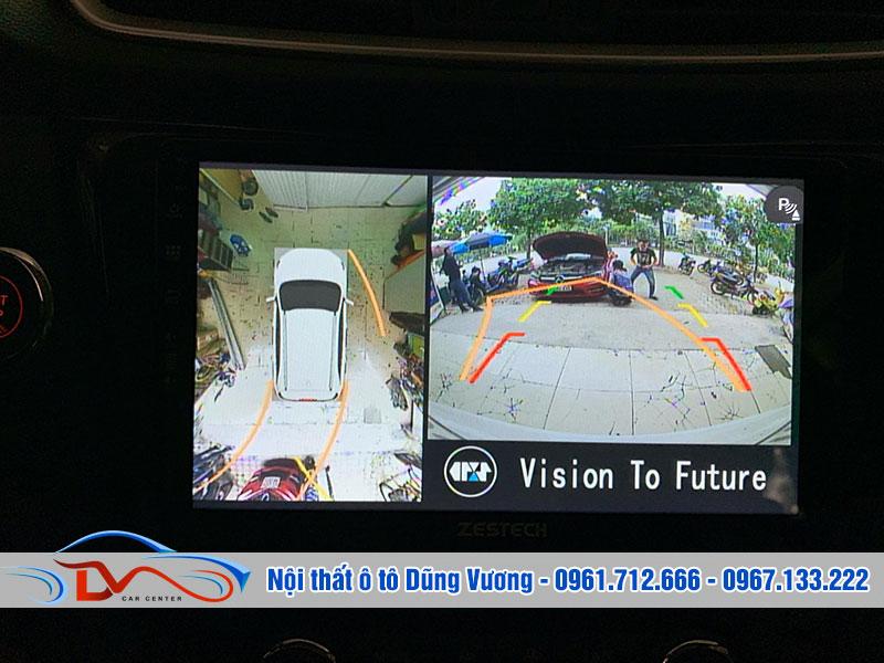 Camera 360 giúp bạn quan sát toàn cảnh không gian