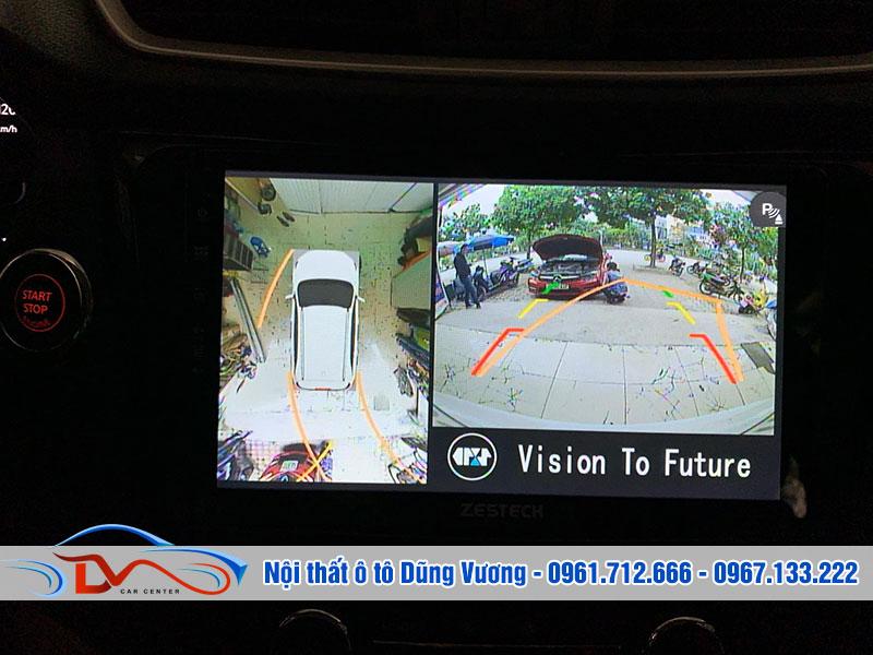 Ngoài camera 360 độ cho xe ô tô, bạn cần tập trung và quan sát kỹ lưỡng