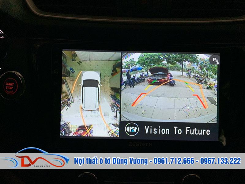 Camera giúp bạn điều khiển xe trong môi trường chật hẹp