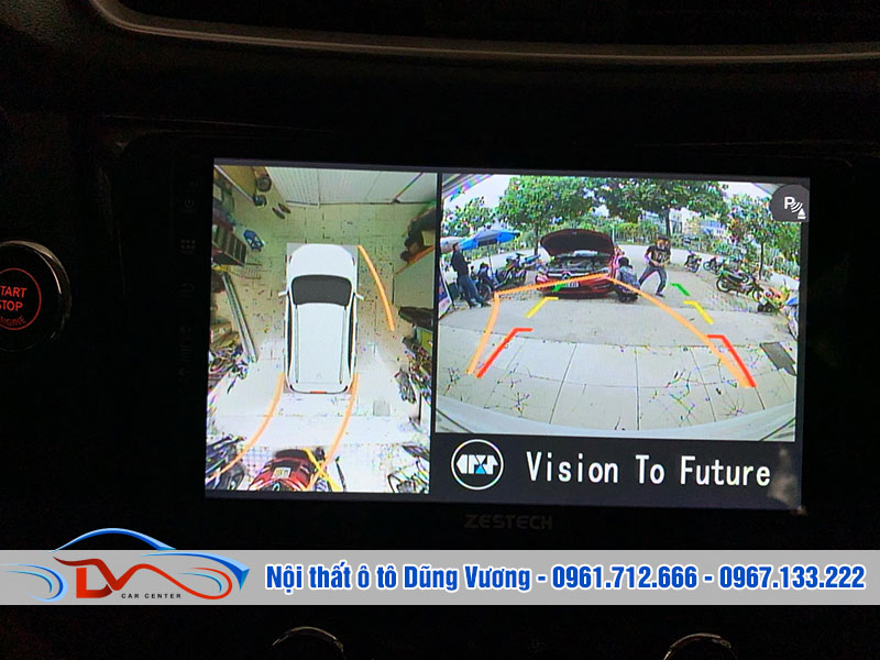 Nhiều người chuyển sang dùng camera 360 để bảo đảm an toàn cho việc điều khiển xe